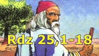 Rdz 25,1-18 Hołd przodkom