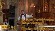 ks Piotr Pawlukiewicz: Jesteś wierzący? Chodzę do kościoła