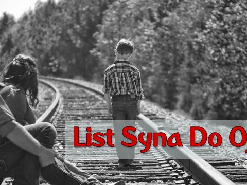 List Syna Do Ojca