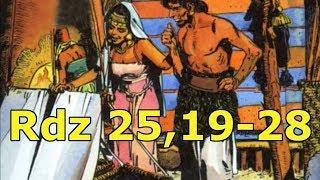 Rdz 25,19-28  Narodziny Ezawa i Jakuba